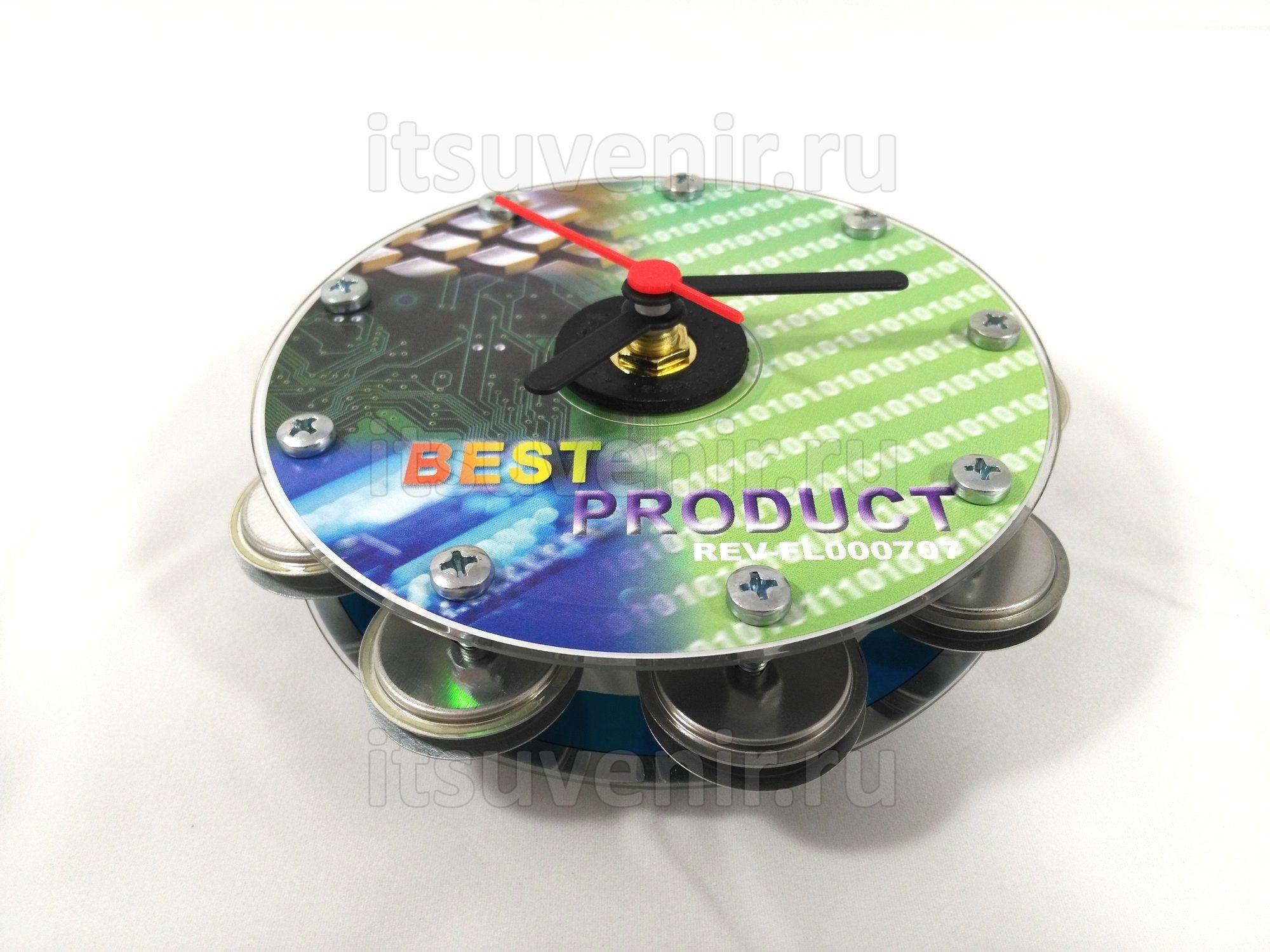 Часы-бубен CD-FDD