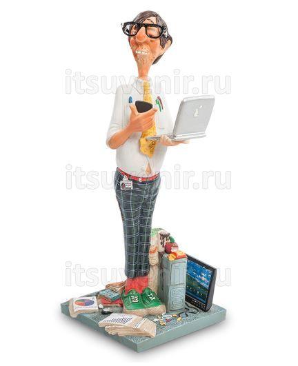 Фигурка Компьютерный эксперт